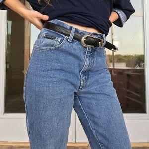 High-Waisted New York Jeans